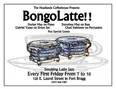 Bongolatte at Headlands Coffeehouse