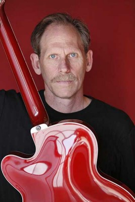 Bruce Forman's Red Guitar