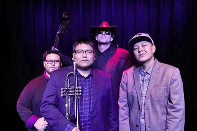 Delbert Anderson Trio featuring Def-i: Native American Jazz