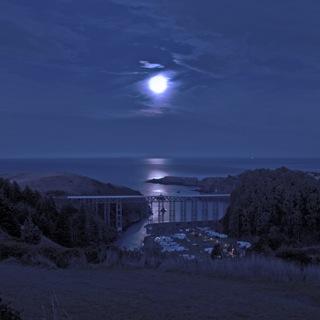MoonSettingOverAlbionBridge_cRitaCranePhoto