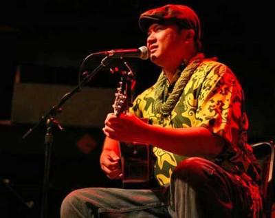 Patrick Kahakauwila Kamaholelani Landeza, Hawaiian slack key guitarist extraordinaire
