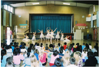 """Thank you so much for a very enjoyable performance. It is wonderful [that] in our small community town we can offer our children this cultural experience."" 3rd Grade Teacher, Ukiah"