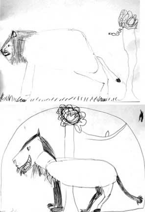 animaldrawings2ndgrade