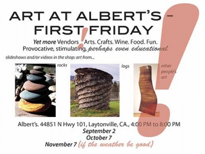 Art at Albert's First Friday