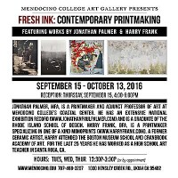 Fresh Ink: Contemporary Printmaking by Harry Frank & Jonathan Palmer