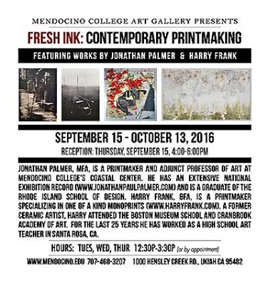 Fresh Ink: Contemporary Printmaking by Harry Frank & Jonathan Palmer
