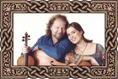 Scottish Fiddle Legend Alasdair Fraser & young cello ace Natalie Haas