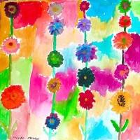 """""""In the Garden"""" Art Explorers Exhibit"""