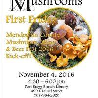 Mushroom, Wine & Beer Fest 2016 Kick-Off