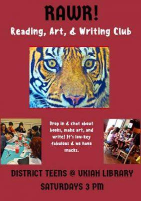 RAWR! (Reading, Art, & Writing Club)