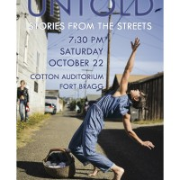 Mendocino Dance Project Presents : UNTOLD-Stories from the Streets and other short works