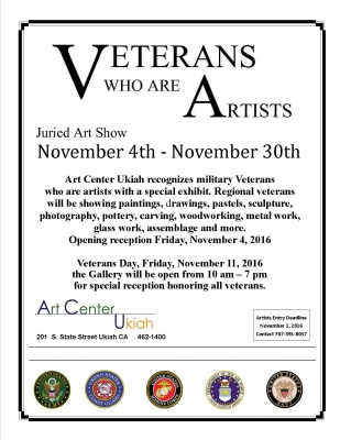 """Veterans Who are Artists"" Exhibit"