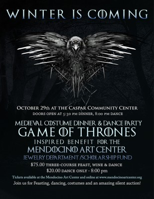 Winter is Coming... Medieval Feast, Costume & Dance Party