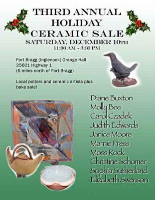 Third Annual Holiday Ceramic Sale