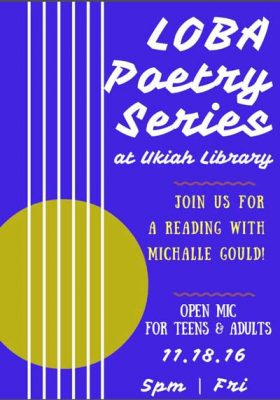 LOBA: a Poetry Reading Series featuring featuring Michalle Gould