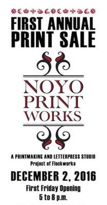 First Annual Print Sale