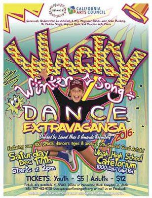 The Wacky Winter Song & Dance Extravaganza 2016