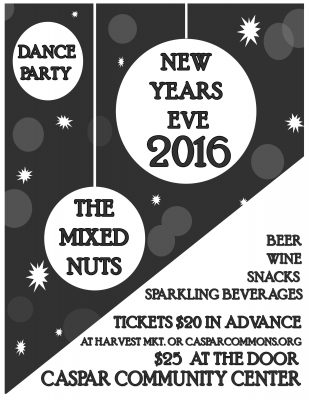New Years Eve Dance Party with The Mixed Nuts