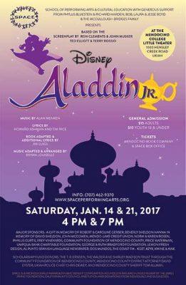 SPACE Presents Disney's Aladdin Jr.