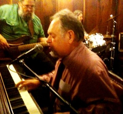 Boogie Woogie Pianist Ed Reinhart Live at the Blue Wing