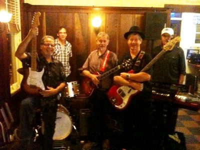 Jim Williams & the Hip Replacements at Blue Wing Monday Blues