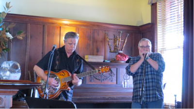 Mike Adams & Patrick Hardman at Blue Wing Monday Blues