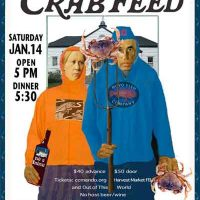 Crab Feed at Community Center of Mendocino
