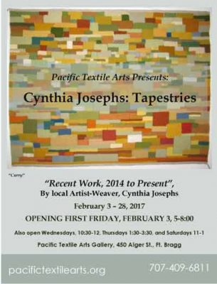 Cynthia Jacobs Tapestries Gallery Show & Sale