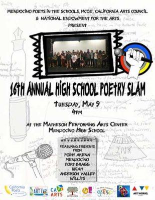 16th Annual HIGH SCHOOL POETRY SLAM