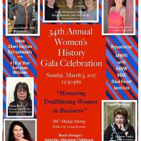 34th Annual Women's History Gala Celebration