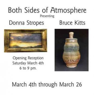 """""""Both Sides of Atmosphere"""" Donna Stropes & Bruce Kitts"""