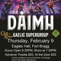 """""""Daimh"""" in Concert"""