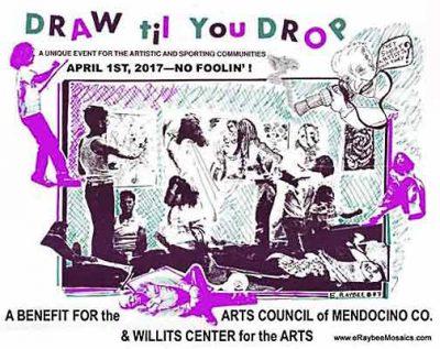 """Draw til You Drop 2017"" April 1st in Willits"