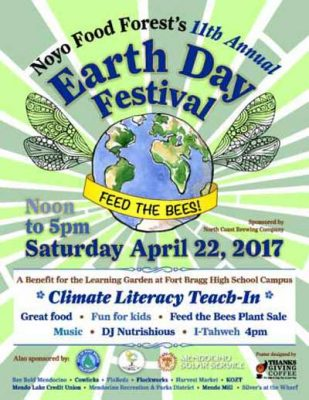 Noyo Food Forest's 11th Annual Earth Day Festival