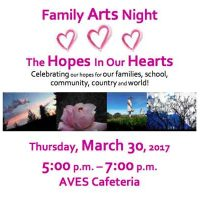 "Family Arts Night ""The Hopes In Our Hearts"""