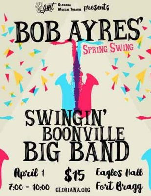 Spring Swing with Bob Ayres' Swingin' Boonville Big Band