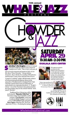 14th Annual Whale and Jazz Festival Chowder Challenge