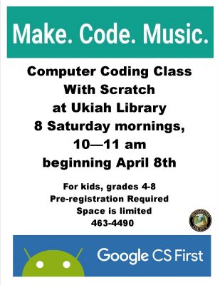 Music & Sound Coding Club for Kids
