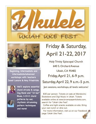 Ukiah Uke Fest