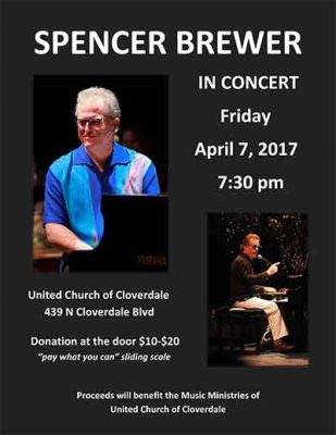 Spencer Brewer Solo Concert