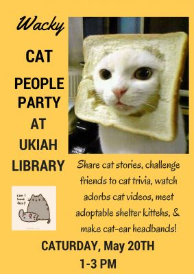 Wacky Cat People Party