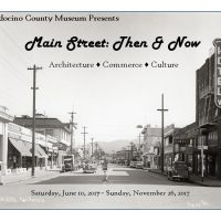 """Main Street: Then & Now"" Exhibit"