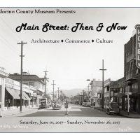 """""""Main Street: Then & Now"""" Exhibit Opening"""