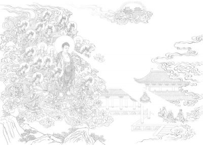 Traditional Chinese Ink and Brush Line Drawing Workshop