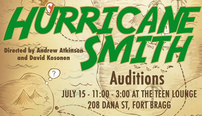 "Auditions for Gloriana's ""Hurricane Smith"""