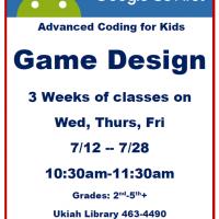 Game Design Coding Camp for Kids