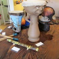 The Artists' Collective in Elk will feature a Musical Instrument Show