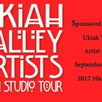 Ukiah Valley Artists Studio Tour 2017