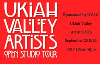 Ukiah Valley Artists Studio Tour 2017