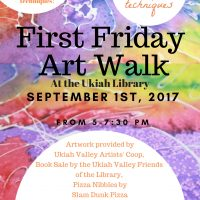 Art Walk: Watercolor Resist Techniques & Book Sale